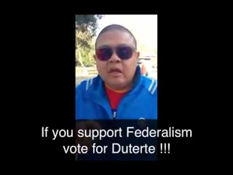 Duterte For Federalism