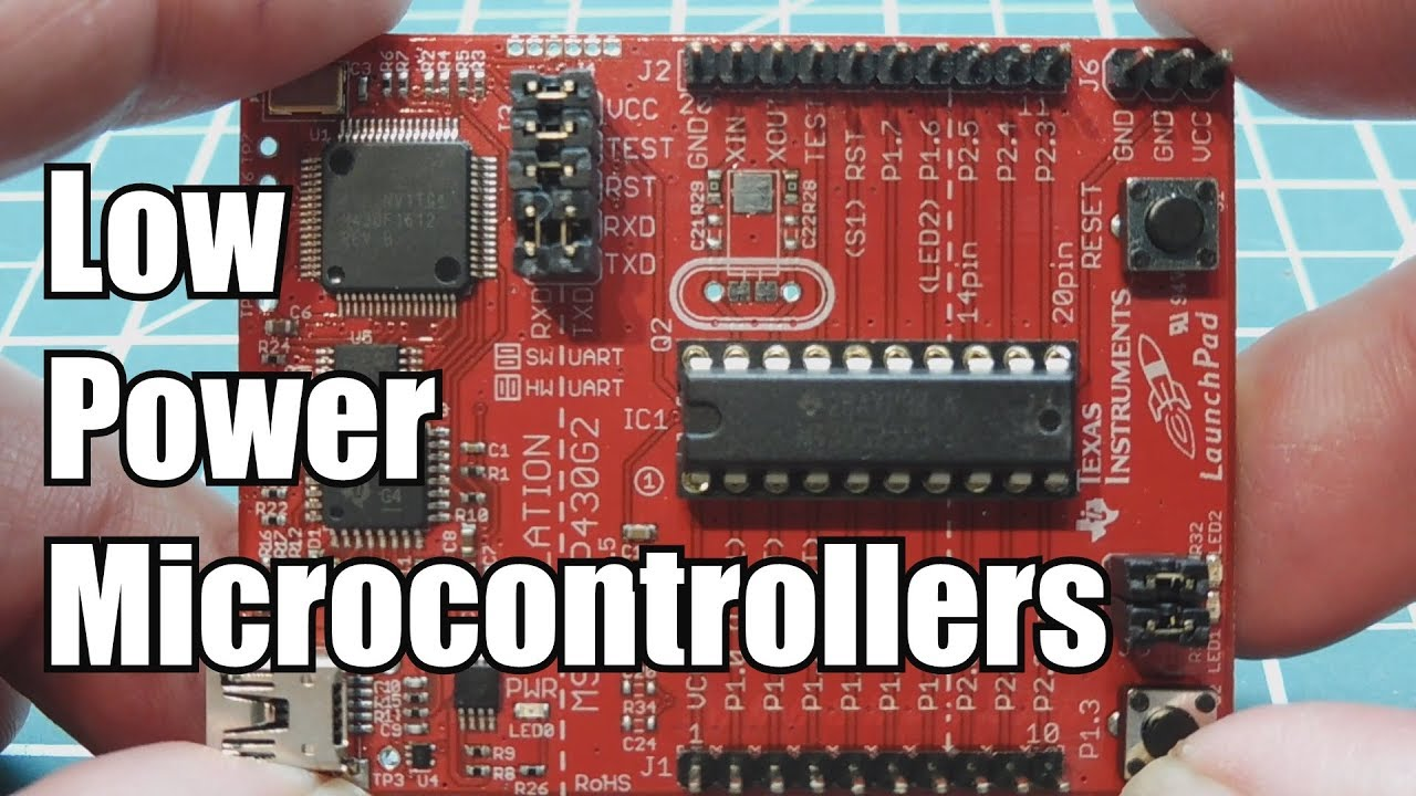 Low Power Microcontrollers / MSP430G2553