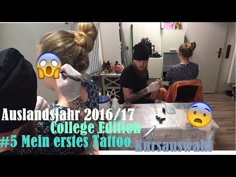 Auslandsjahr USA 2016/17 #5 Update – Tattoo, Kurse, Visum