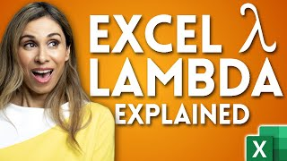 Excel LAMBDA - HOW & WHEN You Should Use It