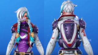New fortnite leaked ingame skin season 10/X - Payback skin - Leaked Season X skin