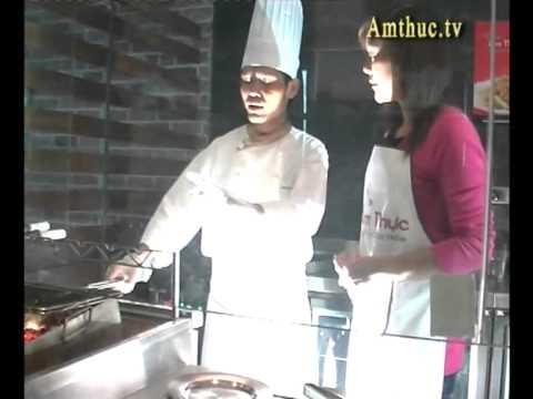Bò Kobe nướng than hoa (Vào bếp cùng Sao - Số 1) - amthuc.tv - tapchiamthuc.vn