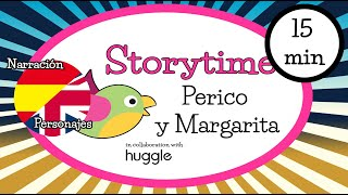 Bilingual Storytime for children - Perico and Margarita (Hänsel and Gretel)