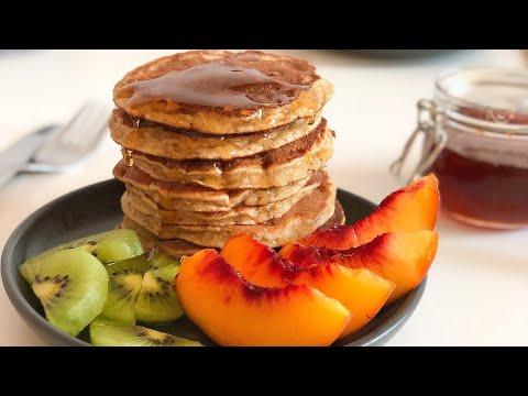 بانكيك-صحي-ولذيذ-بدون-دقيق-ولا-مواد-دسمة-healthy-pancake-sans-farine-et-sans-matière-grasse