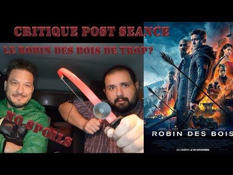 ROBIN DES BOIS Critique Post Séance - Le robin des bois de trop? - No Spoils