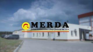 MERDA -  zakład przetwórstwa i uboju zwierząt