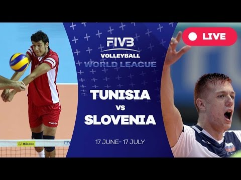 Tunisia v Slovenia - Group 3: 2016 FIVB Volleyball World League