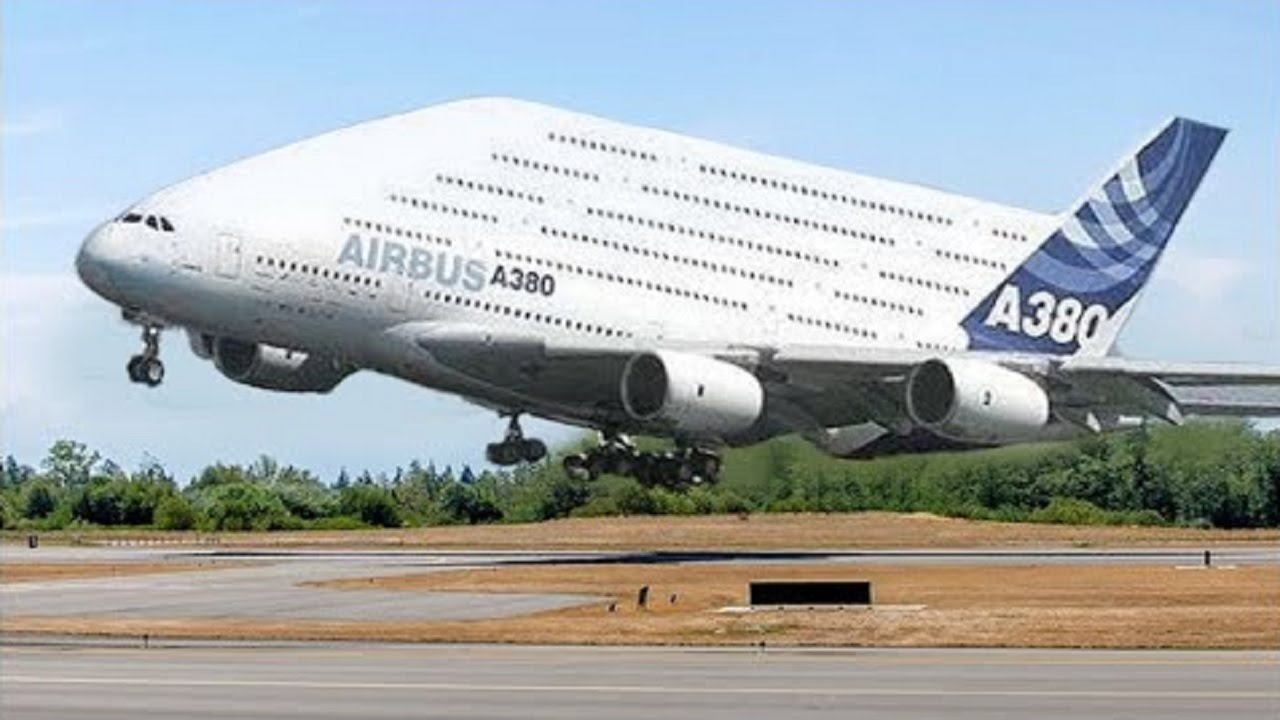 The largest passenger aircraft in the world 95