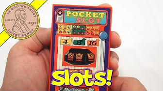 Tomy Pocket Slot Machine Handheld Game