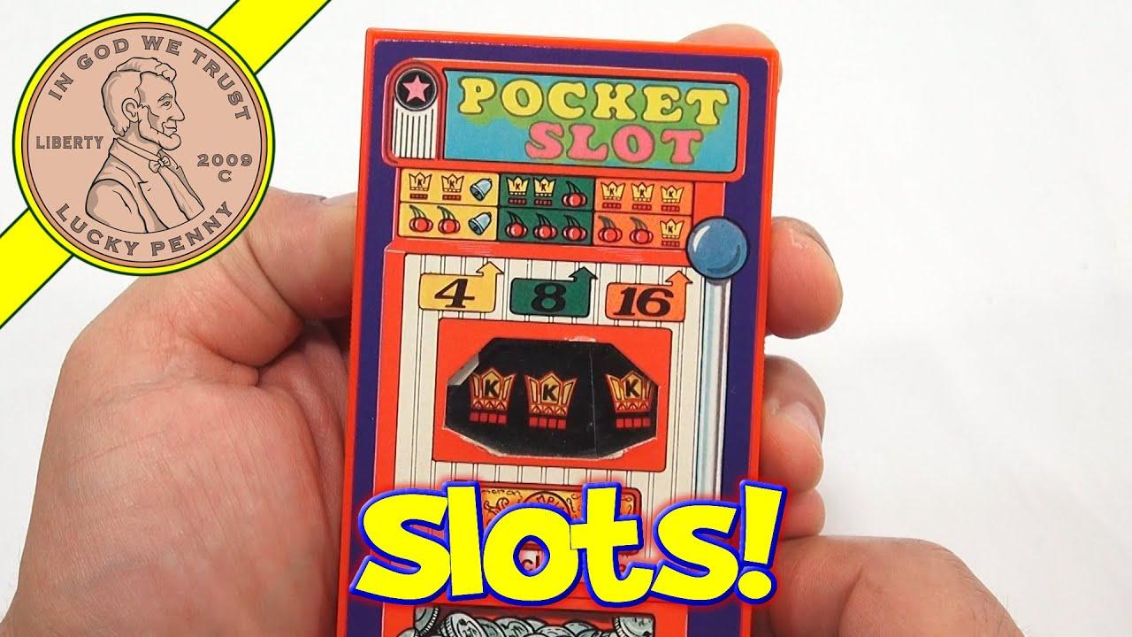 pocket machine