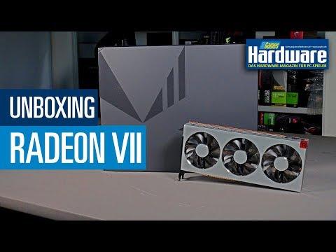 AMD Radeon VII (Seven) | Unboxing vor dem Review | Vega 20 | 16 GB HBM2 | 7nm