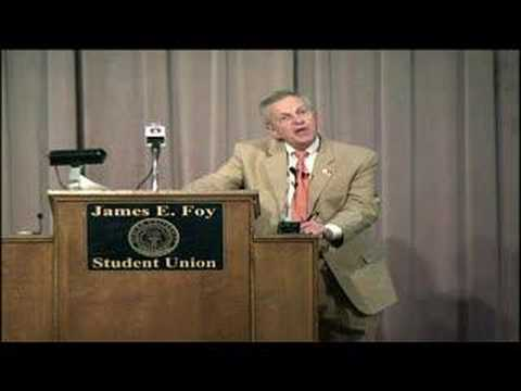 The Final Lecture 2008 - Joseph Kicklighter