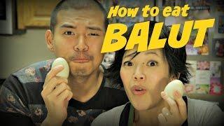 How to Eat Balut Duck Egg ft. RuleofYum