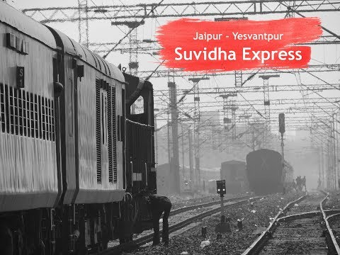 First Regular Premium (Suvidha) Express | Major Station Skips and High Speed Action