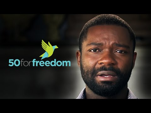 David Oyelowo gives voice to victim trapped in modern slavery