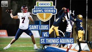 St. Louis  Hi  Vs St. Thomas Aquinas  Fl  - 2019 Geico State Champions Bowl Series - Espn Highlights