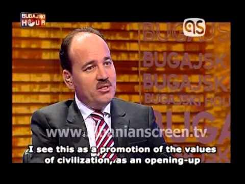 """""""Bugajski Hour"""", interview with Bujar Nishani, President of Albania"""