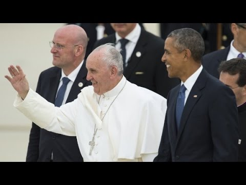 Pope Francis begins historic U.S. visit