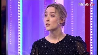 BBC The One Show 10/1/2019 Saoirse Ronan , Mary Queen of Scots