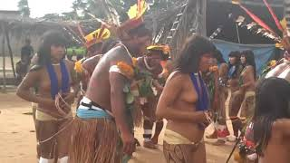 Ritual pesta adat <b>gadis suku pedalaman</b> di Brazil