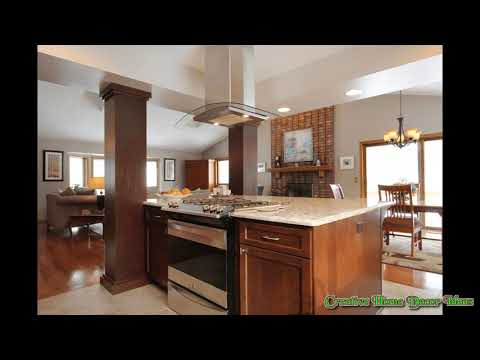 Kitchen Island With Slide In Stove Youtube