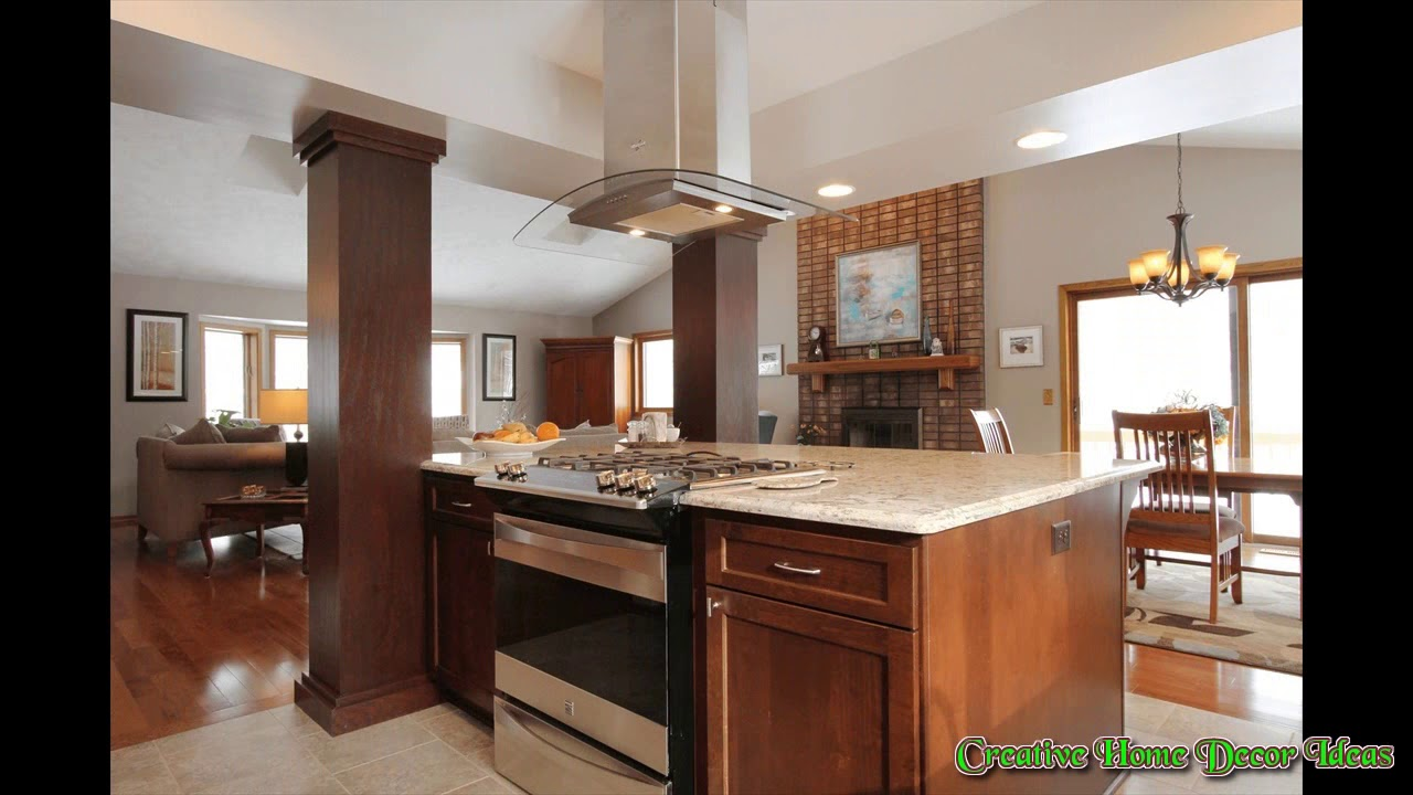 kitchen island with stove display slide in youtube