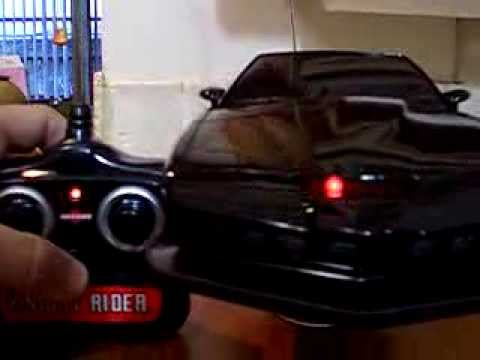 rare talking knight rider k i t t remote control led light youtube. Black Bedroom Furniture Sets. Home Design Ideas