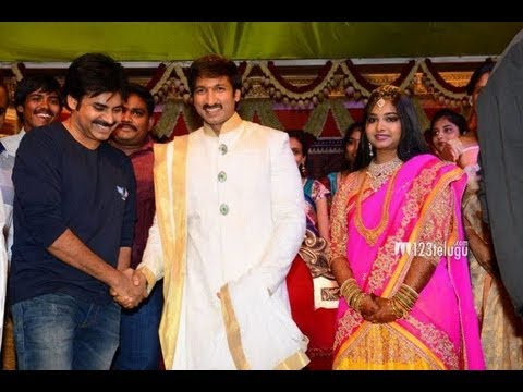 Pawan Kalyan With A New Look Gopichand Marriage Youtube