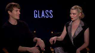 Glass Movie - Interview with Spencer Treat Clark & Anya Taylor-Joy