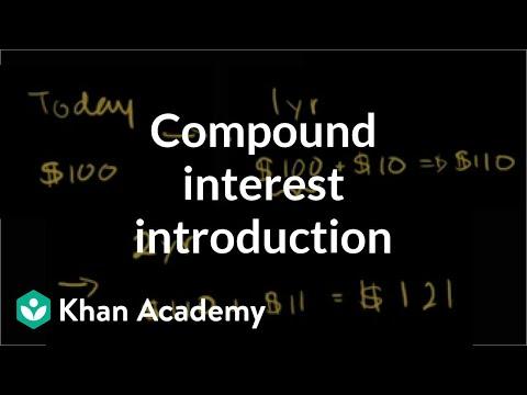 Compound interest introduction | Interest and debt | Finance & Capital Markets | Khan Academy