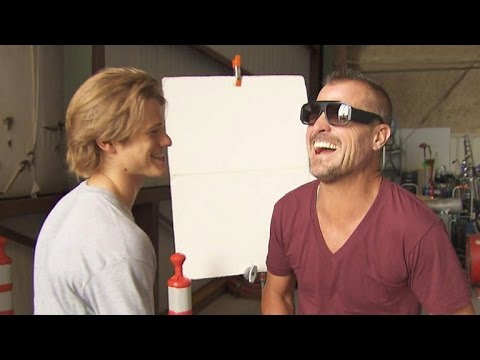 EXCLUSIVE: Lucas Till and George Eads Develop Hollywood's Newest Bromance on 'MacGyver' Set