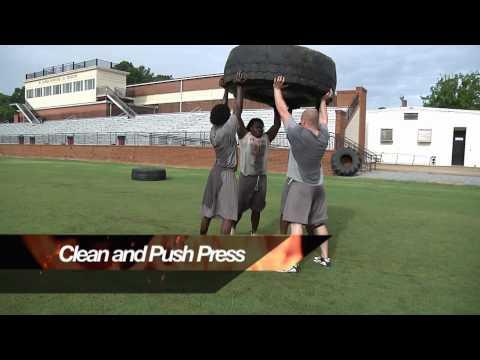 Hawk Strength Tire Training Progression