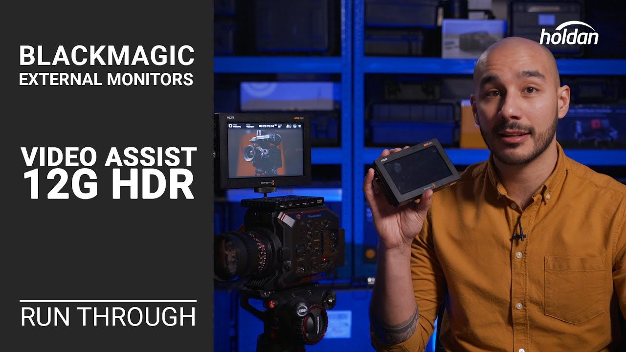 Blackmagic Design Video Assist 7 12g Hdr Monitor Bmd Hyperd Avida12 7hdr