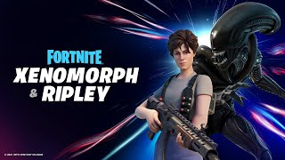 New XENOMORPH and RIPLEY Skins! (Fortnite Season 5)