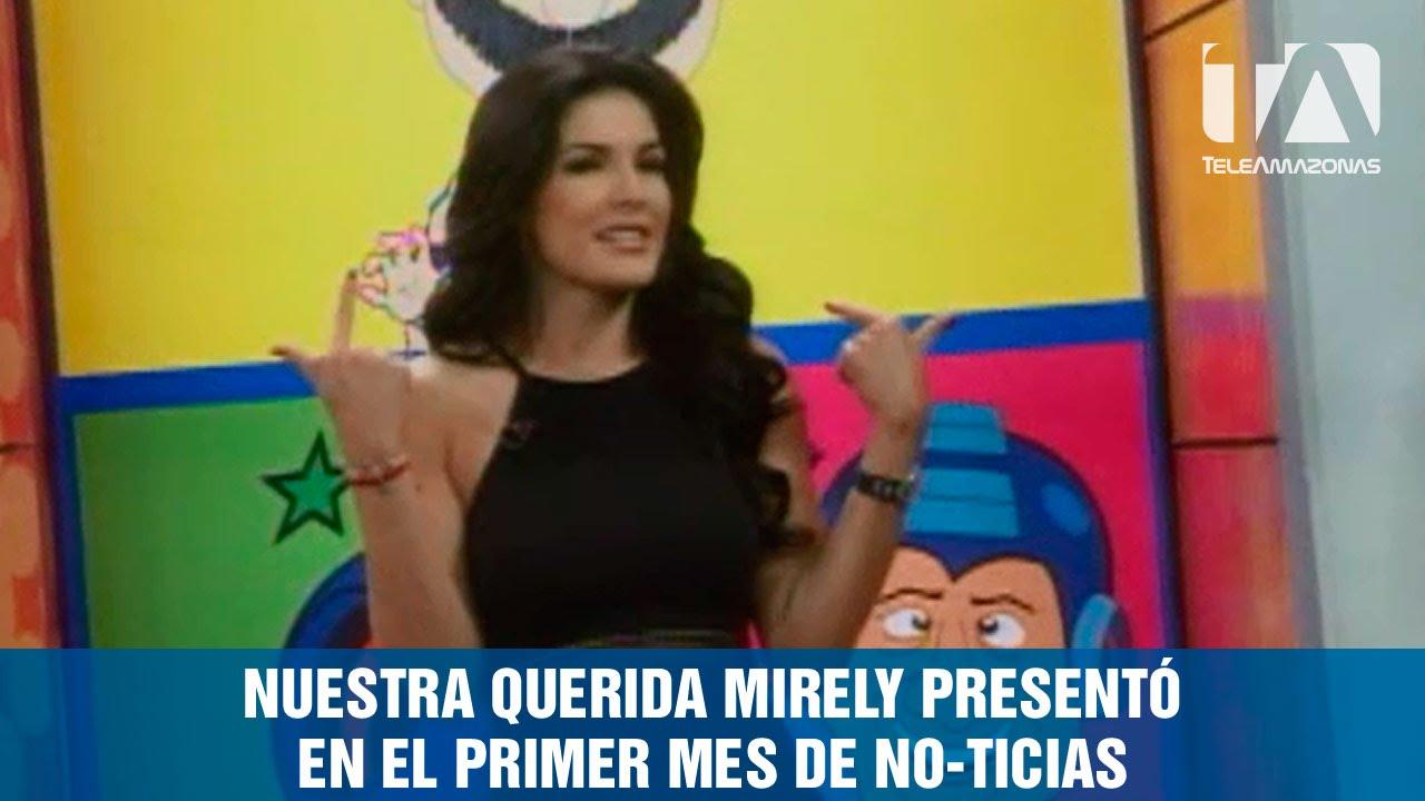 mirely barzola estuvo como invitada en noticias en corto youtube