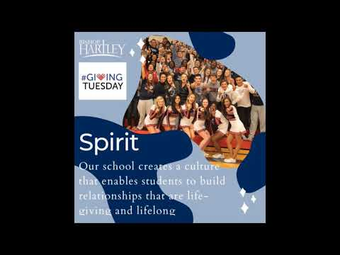 Giving Tuesday 2019 Bishop Hartley High School