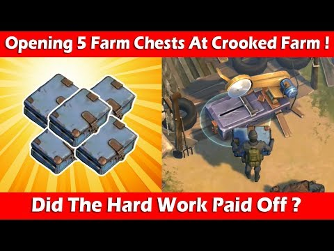 Opening 5 Farm Chests At Crooked Creek Farm (1.9.3)! Last Day On Earth Survival