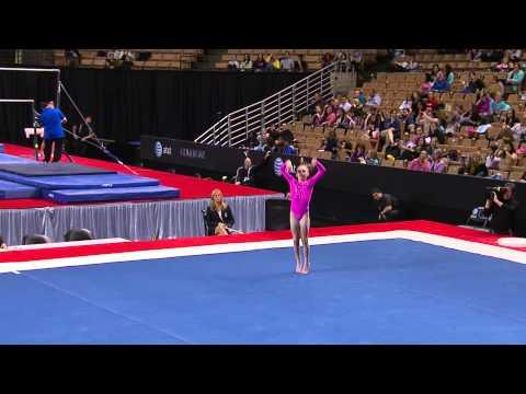 Sydney Johnson-Scharpf - Floor Exercise - 2013 Nastia Liukin Cup