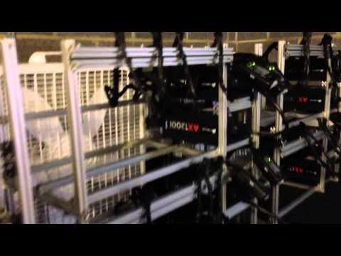 BitCoin mining frame