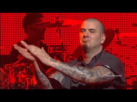 Anthrax This Love & Raining Blood Live w-Phil Anselmo & Rex Brown Revolver Golden Gods Awards 2013