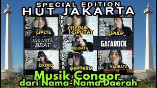 "MUSIK CONGOR ""Jakarta Beat"" ( Edisi Spesial HUT JAKARTA ) Gafarock"