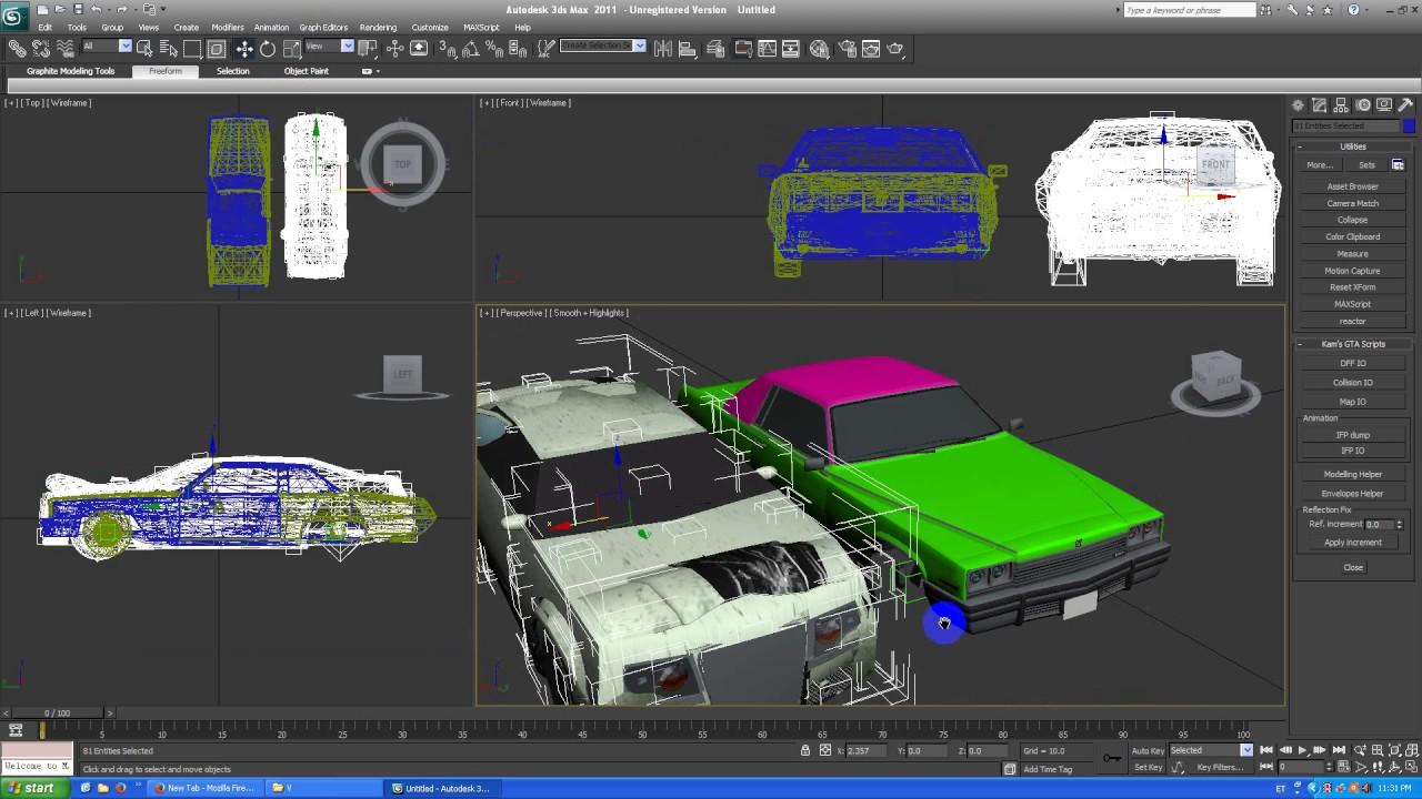 Converting GTA 5 vehicles to San Andreas part 1 (Texturing)