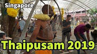 Thaipusam 2019 Singapore