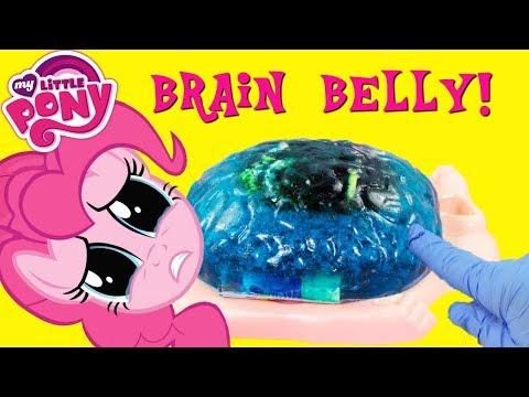 MY LITTLE PONY Pinkie Pie Brain Belly What's Inside?