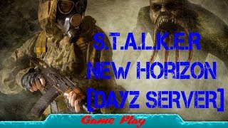Начало S.T.A.L.K.E.R New Horizon [DayZ SERVER] день 3