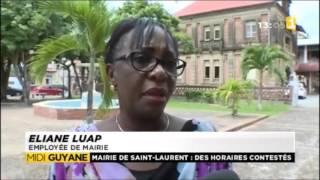 Grogne des agents de la mairie de Saint Laurent