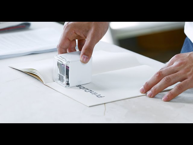 Introducing PrinCube-The World's Smallest Mobile Color Printer
