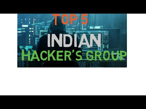 Top 5 Indian hackers group