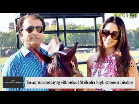 Sangeeta Ghosh holidays with husband Shailendra Singh Rajput
