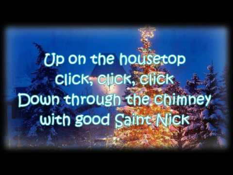 [Lyrics] Gene Autry - Up on the House Top